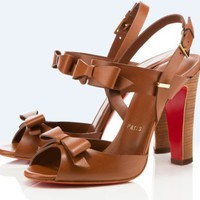 Christian Louboutin Double Noeud 100mm Sandals - $239.00