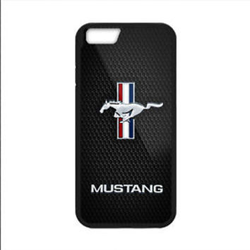 Luxury Ford Mustang Logo Automotive For iPhone 8 and 8 Plus Hard Plastic Case