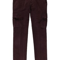 Burgundy Cargo Pants B308i | Suitsupply Online Store