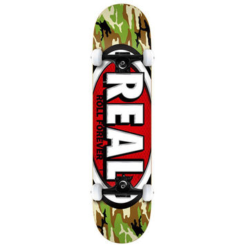 """Real Skateboards Camo Oval Complete - 7.75"""""""