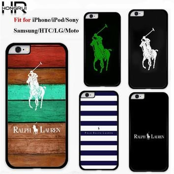 Original Polo Ralph Lauren Phone Cases Cover for iphone 4 5 6s 7 7plus Samsung galaxy