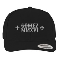 Selena Gomez Brushed Embroidered Cotton Twill Hat