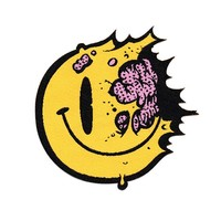 Tony Riff Smiley Face Patch
