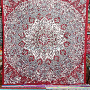 Star Mandala Hippie Tapetsry, Star Wall Decor, Bohemian Tapeastry,Star Wall Hanigng,Indian Tapestry,Hippie Art