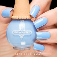 I Scream Nails Blue Heaven