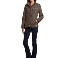 Carhartt Women's Wellington Jacket Quilted Nylon Snap Front