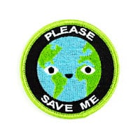 Please Save Me Earth Patch