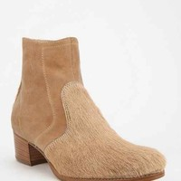 Modern Vice New York Dove Western Ankle Boot- Neutral Multi