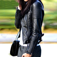 Women's Faux Soft Leather Jackets