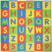 Tadpoles ABC 36-Piece Playmat Set in Primary Multicolor