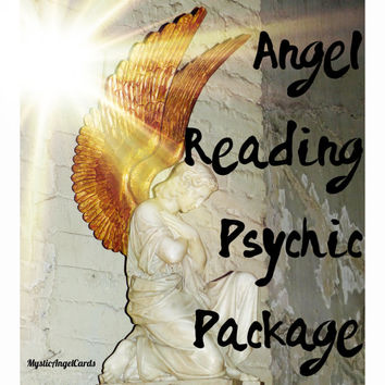 Angel Reading Psychic Package, Tarot Reading, Certified Angel Card Reader, Tarot Reading, Psychic Pacakge, accurate and in-depth readings