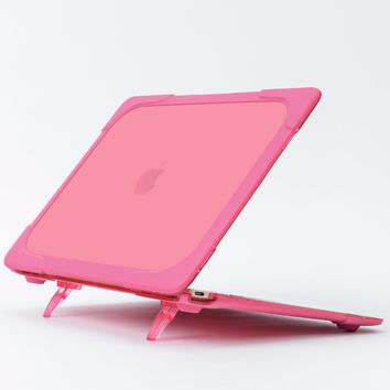 "GOOYIYO -   Laptop Hard Plastic Case for  Macbook 12""  TPU&Matte PC Cover Riser Heat Dissipation Shell&Free Keyboard Cover"