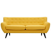 Papaya Yellow Ida Sofa