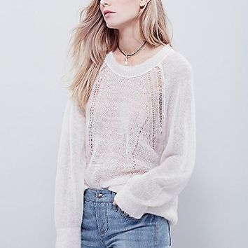 Free People Womens Daniella Pullover