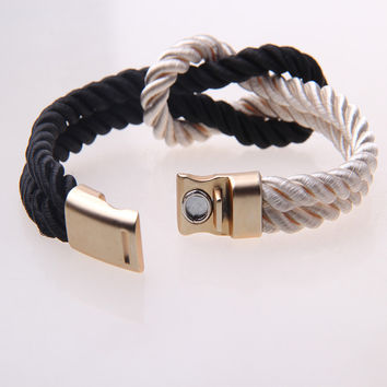 Nautical Rope Infinity Knot Bracelet: SAVE $6 TODAY