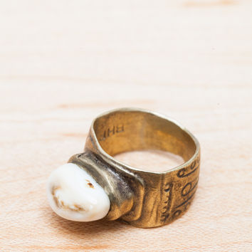 Bailey Hunter Robinson Elk Tooth Ring