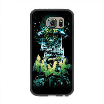 The Icredible Hulk Samsung Galaxy S6 Case