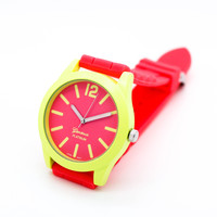 Cutie jelly strap watch (4 colors)