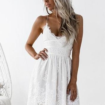 Aurelia Dress (White)
