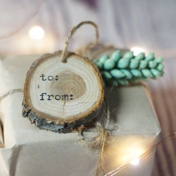 Set of 12 To From Gift Tags