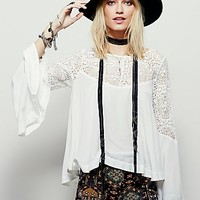 Free People Womens Movin On Up Top
