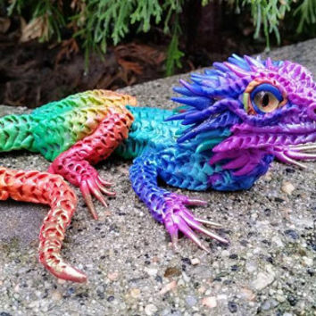 Rainbow Bearded Dragon