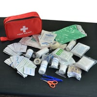 180pcs pack Safe Travel First Aid Kit Camping Hiking Medical Emergency Kit Treatment Pack Set Outdoor Wilderness Survival