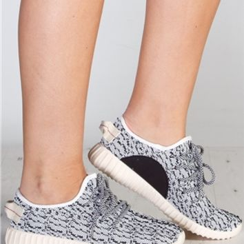 Kirsty White Textured Trainers at misspap.co.uk