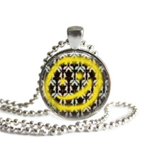 Sherlock Yellow Smiley Face Necklace Bored!