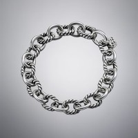 David Yurman | David Yurman Bracelets | Cable & Cuff Bracelets for Women | Medium Oval Link Chain Bracelet
