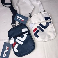 FILA New fashion women and men shoulder bag two color