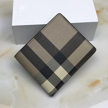 Boys & Men Burberry Men Leather Wallet Purse