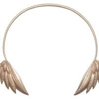 Angel Wing Choker with Diamonds