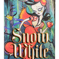 Illustrated Snow White Book