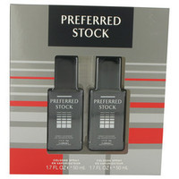 PREFERRED STOCK by Coty Gift Set -- Two 1.7 oz Cologne Sprays (Men)