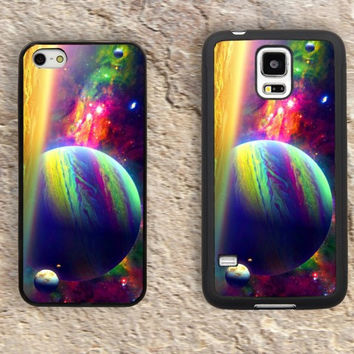 Psychedelic space iPhone Case-Colorful iPhone 5/5S Case,iPhone 4/4S Case,iPhone 5c Cases,Iphone 6 case,iPhone 6 plus cases,Samsung Galaxy S3/S4/S5-043