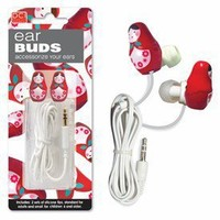 Babushka Russian Doll Earbuds - Whimsical & Unique Gift Ideas for the Coolest Gift Givers