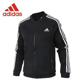 Original Adidas New Arrival Authentic JKT KN BOMBER 3 Women's Breathable jacket Sportswear CF3863