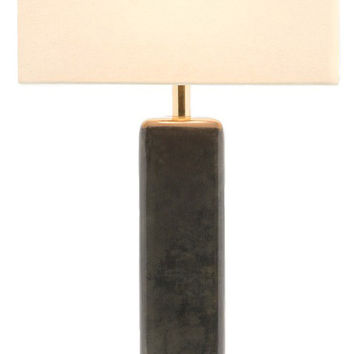Made Goods Abban Lamp - Dark Gray