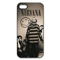 Rock Band Nirvana Case Cover for iPhone 5/5s