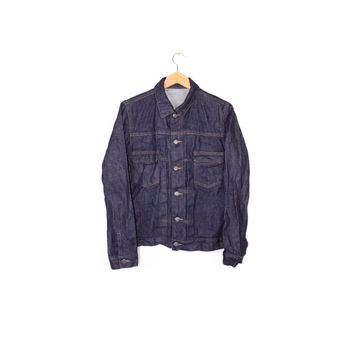 A.P.C. raw selvedge denim jacket  - small - medium