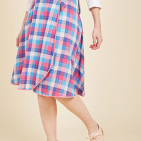Wrapped in Imagination Reversible Skirt | Mod Retro Vintage Skirts | ModCloth.com