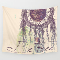Be Free Wall Tapestry by Rskinner1122