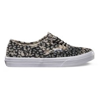 Vans Washed Authentic Slim (leopard/black)