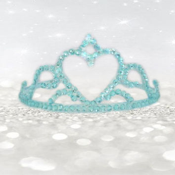 Tiara Crown Headband - Birthday Gift - Princess Party Crown - Dress Up - Plastic Tiara - Part Hair Accessories - Girls Hair Accessories
