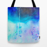 Waiting on the Other Side Tote Bag by House of Jennifer