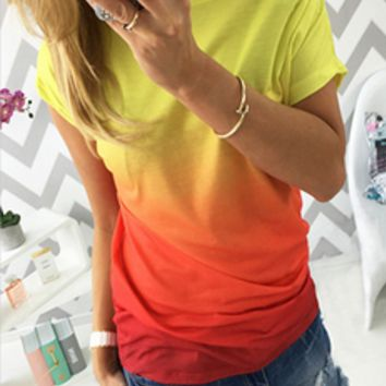 Causal Ombre T-Shirt