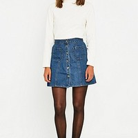 Urban Outfitters - Jupe trapèze en jean - Urban Outfitters