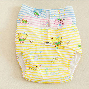 Cute Shine Reusable Washable Baby Cloth Diaper Nappy Cover S~L HU