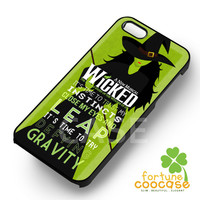 Wicked Musical Broadway Quote - z321z for  iPhone 4/4S/5/5S/5C/6/6+,Samsung S3/S4/S5/S6 Regular/S6 Edge,Samsung Note 3/4